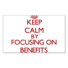 Benefits Decal