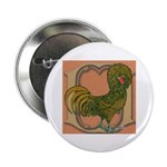 Polish Rooster Button