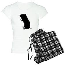 Gerbil Silhouette Pajamas