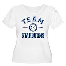 Community Team Starburns Plus Size T-Shirt