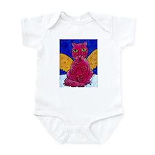 Angel Cat - Pink Infant Bodysuit