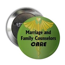 "Marriage and Family Counselors Care 2.25"" Button ("