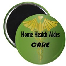 "Home Health Aides Care 2.25"" Magnet (10 pack)"