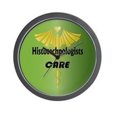 Histotechnologists Care Wall Clock