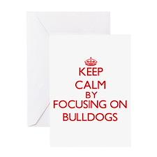 Bulldogs Greeting Cards