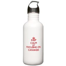 Canvases Water Bottle