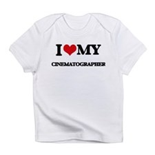 I love my Cinematographer Infant T-Shirt