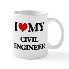 I love my Civil Engineer Mugs