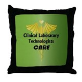Clinical Laboratory Technologists Care Throw Pillo