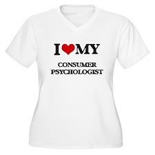 I love my Consumer Psychologist Plus Size T-Shirt