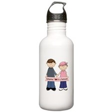 Someone I Love Is A Suvivor Couple Water Bottle
