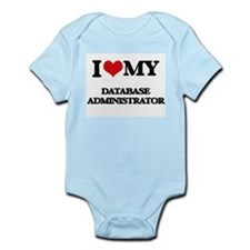 I love my Database Administrator Body Suit