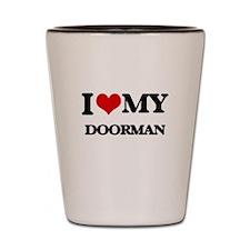 I love my Doorman Shot Glass