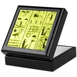 Heiroglyphic Keepsake Box