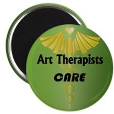 "Art Therapists Care 2.25"" Magnet (10 pack)"