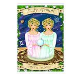 Lady Gemini Postcards (Package of 8)