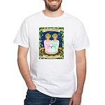 Lady Gemini White T-Shirt