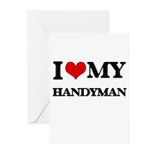 I love my Handyman Greeting Cards