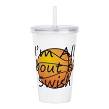 TOP Basketball Swish Acrylic Double-wall Tumbler