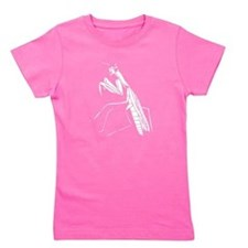 Preying Mantis Silhouette Girl's Tee