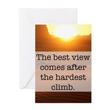 Climb Greeting Cards
