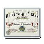 University of Kink Mousepad