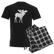 Moose Silhouette Pajamas
