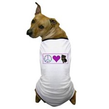 Peace Love & Yorkie - Dog T-Shirt