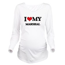 I love my Marshal Long Sleeve Maternity T-Shirt