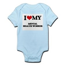I love my Mental Health Worker Body Suit