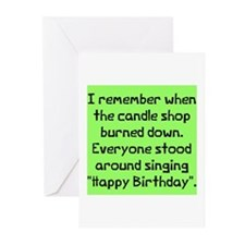 Remember candle shop Greeting Cards (Pk of 10)