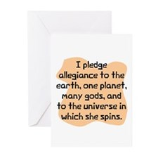Pledge allegiance to Greeting Cards (Pk of 10)