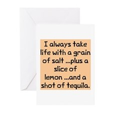 Always take life with Greeting Cards (Pk of 10