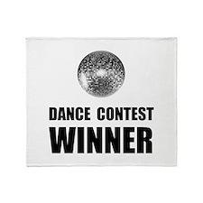 Dance Contest Winner Throw Blanket