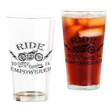 Ride Empowered Vintage Glitter & Gasoline Drinking