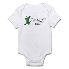Happy Birthday Irene (gator) Infant Bodysuit