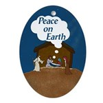 Peace On Earth (Christmas Ornament)