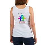 Proud Nanny (backprint) Women's Tank Top