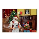 Santa & Anatolian Postcards (Package of 8)