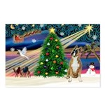 XmasMagic/Boxer (#1) Postcards (Package of 8)