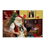 Santa's Boxer (#1) Postcards (Package of 8)