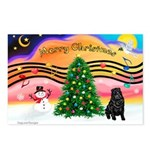 XmasMusic2/Shar Pei Postcards (Package of 8)
