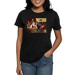 Santa's Chow Chow Women's Dark T-Shirt