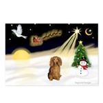 NIGHT FLIGHT<br>&Dachshund LH Postcards
