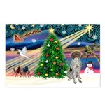 Xmas Magic/German SHP Postcards (Package of 8)