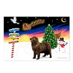 XmasSigns/Newfie Postcards (Package of 8)