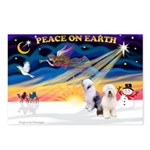 XmasSunrise/ 2 OES Postcards (Package of 8)