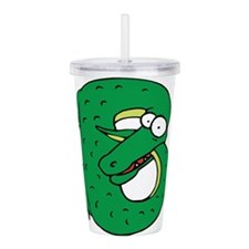 Alligator B Acrylic Double-wall Tumbler