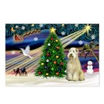 XmasMagic/Wheaten (#10) Postcards (Package of 8)