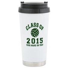 Class Of 2015 Volleyball Travel Mug